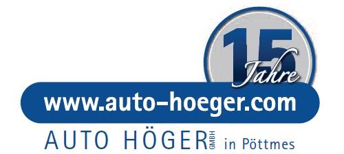 Auto Höger GmbH, prodaja vozil